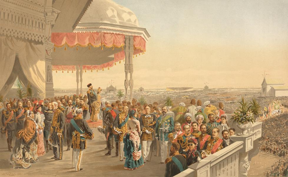Description du Sacre et du Couronnement de Leurs Majestes Imperiales - Fete populaire sur le champ de Khodinsky (1883)