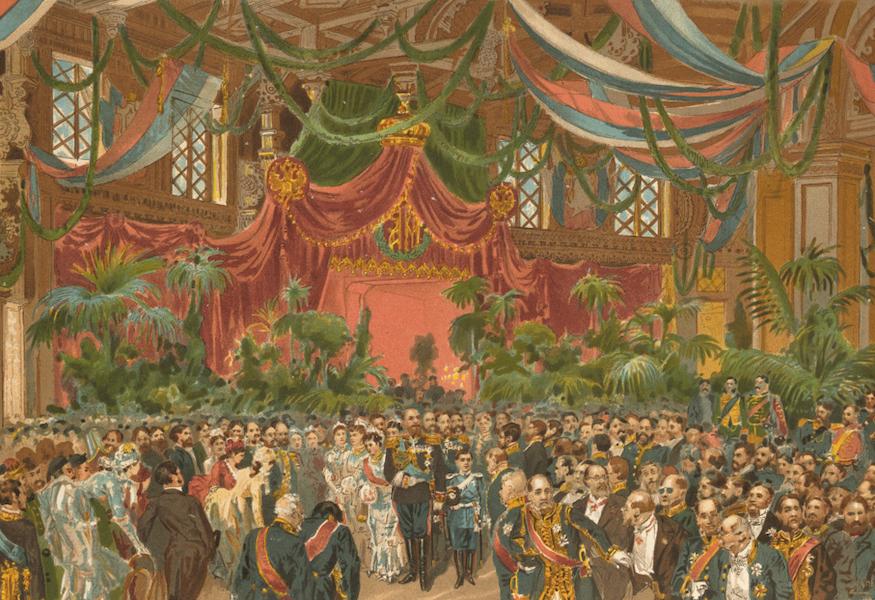 Description du Sacre et du Couronnement de Leurs Majestes Imperiales - [Untitled View] (1883)