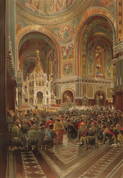 Description du Sacre et du Couronnement de Leurs Majestes Imperiales - Inauguration de Cathedrale du Sauveur (1883)