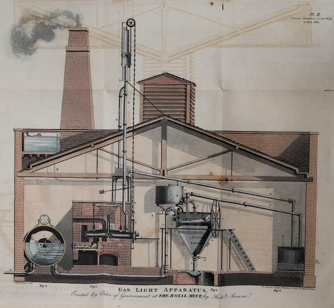 Description of the Process of Manufacturing Coal Gas - Gas-Light Apparatus (1819)
