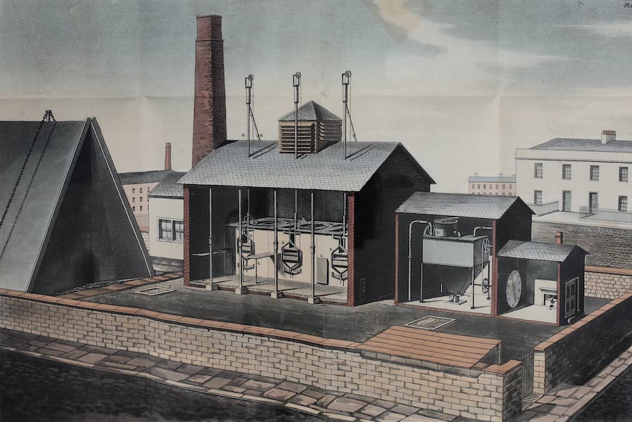 Description of the Process of Manufacturing Coal Gas - Gas Works (1819)
