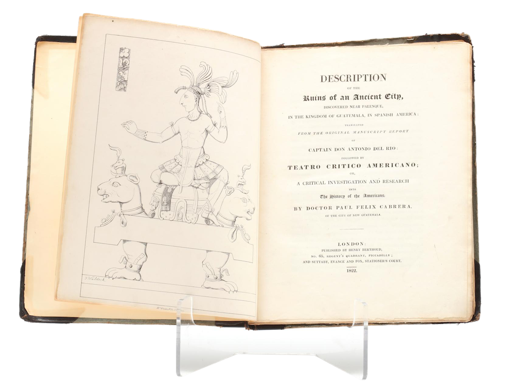 Description of the Ruins of an Ancient City - Display (1822)