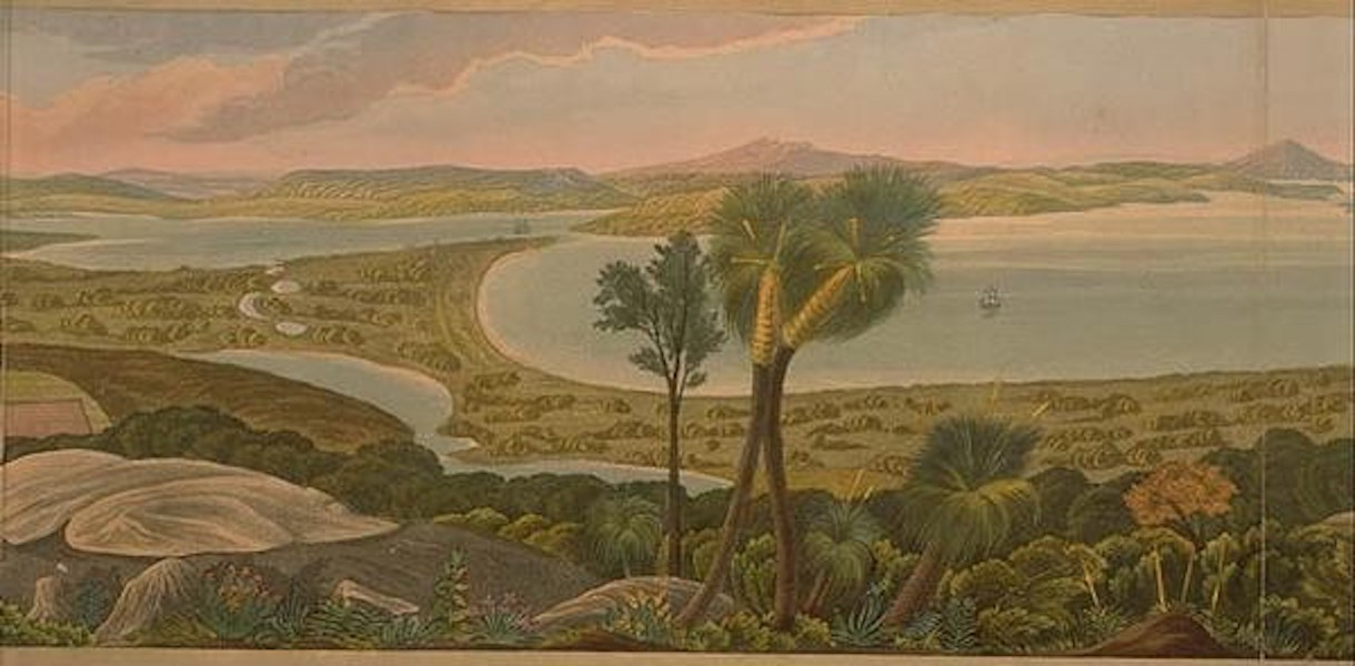 Descriptive Account of the Panoramic View of King George's Sound - Panoramic View of King George's Sound [II] (1834)