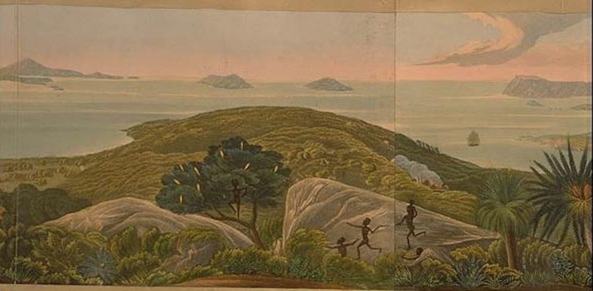 Descriptive Account of the Panoramic View of King George's Sound - Panoramic View of King George's Sound [III] (1834)