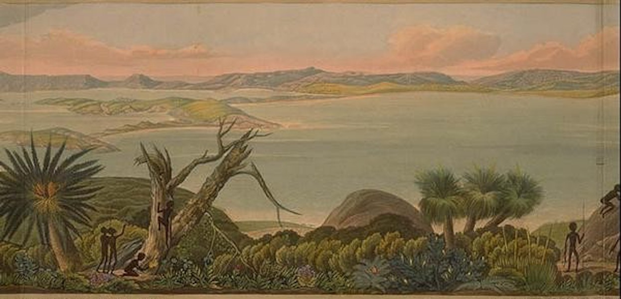 Descriptive Account of the Panoramic View of King George's Sound - Panoramic View of King George's Sound [IV] (1834)