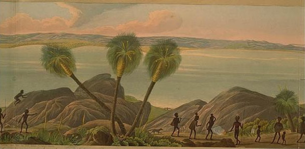 Descriptive Account of the Panoramic View of King George's Sound - Panoramic View of King George's Sound [V] (1834)