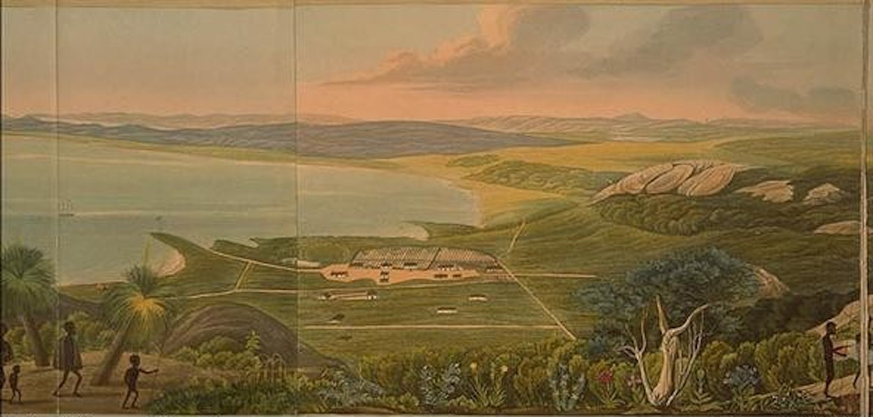 Descriptive Account of the Panoramic View of King George's Sound - Panoramic View of King George's Sound [VI] (1834)