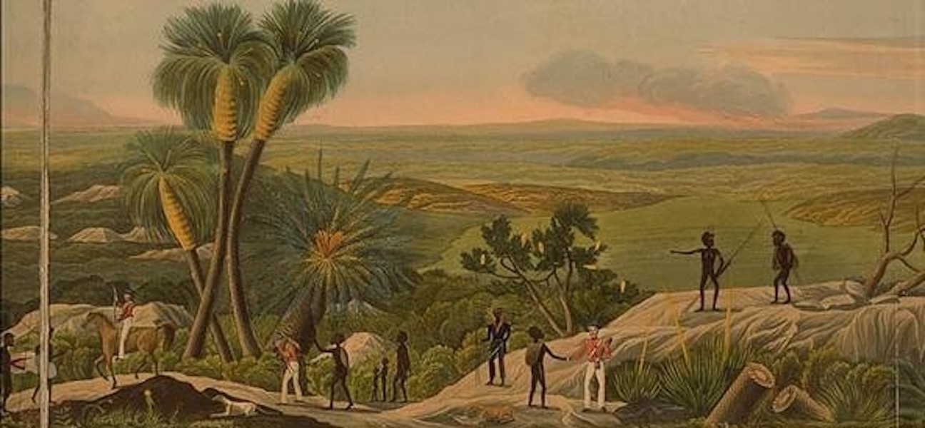Descriptive Account of the Panoramic View of King George's Sound - Panoramic View of King George's Sound [VII] (1834)