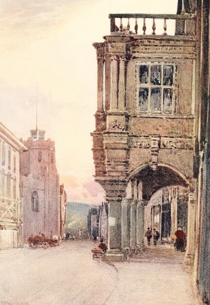 Devon : Its Moorlands, Streams, & Coasts - The Guildhall, Exeter (1913)