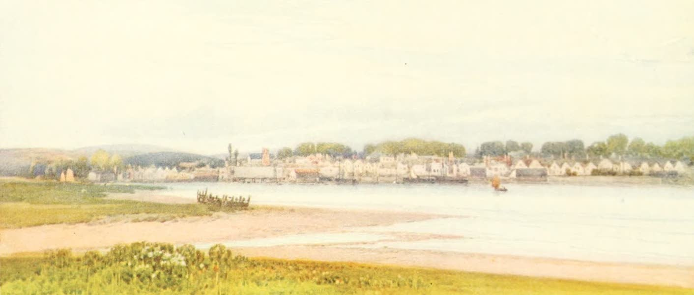 Devon : Its Moorlands, Streams, & Coasts - Topsham (1913)