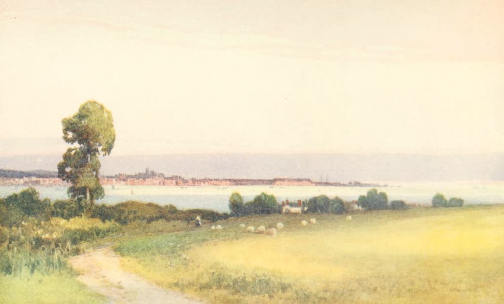 Devon : Its Moorlands, Streams, & Coasts - Exmouth from Cockwood (1913)