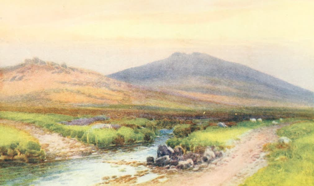 Devon : Its Moorlands, Streams, & Coasts - Yes Tor : Dartmoor (1913)
