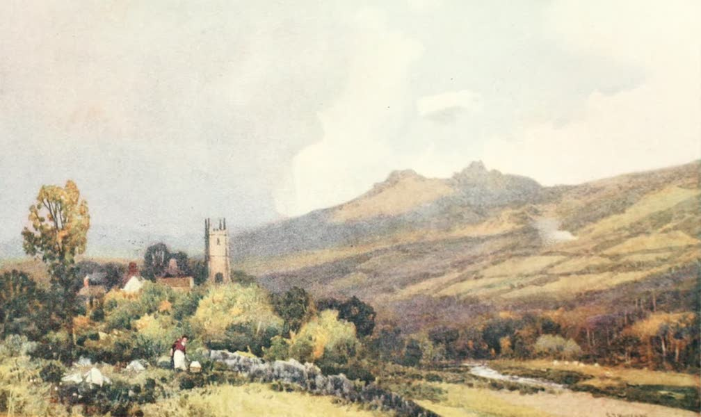 Devon : Its Moorlands, Streams, & Coasts - Widecombe-in-the-Moor (1913)