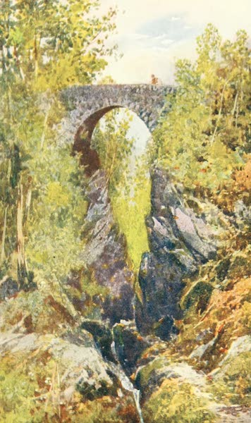 Devon : Its Moorlands, Streams, & Coasts - Lydford Bridge (1913)