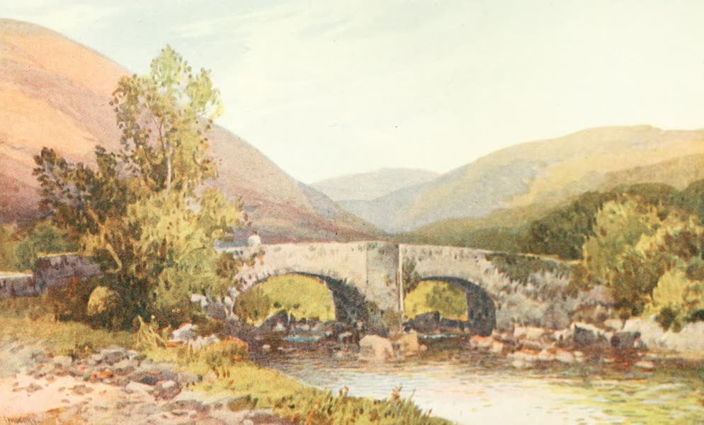 Devon : Its Moorlands, Streams, & Coasts - Fingle Bridge (1913)