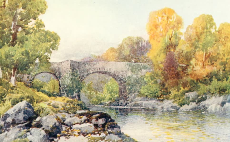 Devon : Its Moorlands, Streams, & Coasts - Holne Bridge (1913)