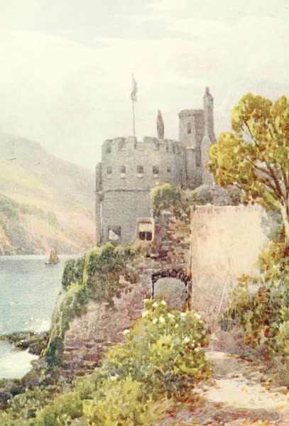 Devon : Its Moorlands, Streams, & Coasts - Dartmouth Castle (1913)