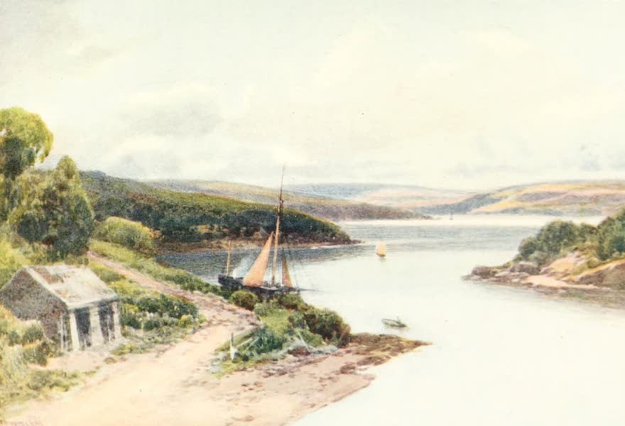 Devon : Its Moorlands, Streams, & Coasts - Salcombe (1913)