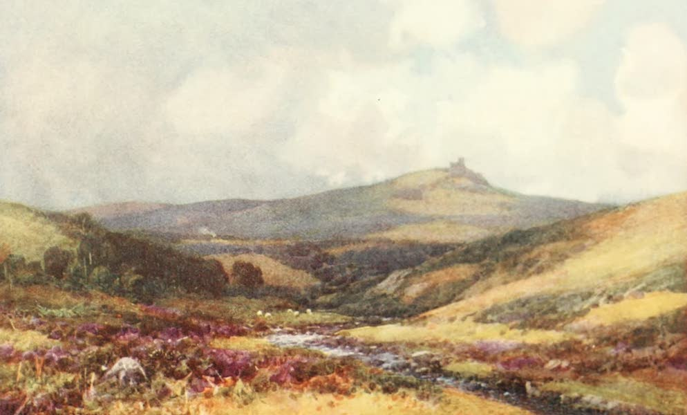 Devon : Its Moorlands, Streams, & Coasts - Brent Tor. From Lvdford Moors (1913)
