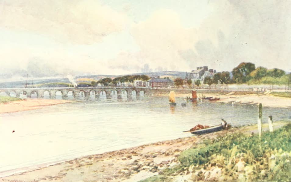 Devon : Its Moorlands, Streams, & Coasts - Barnstaple Bridge (1913)