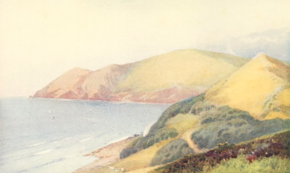 Devon : Its Moorlands, Streams, & Coasts - Countisbury Foreland (1913)