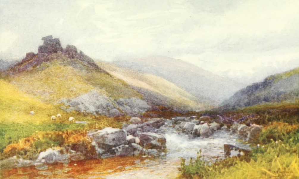 Devon : Its Moorlands, Streams, & Coasts - Doone Valley (1913)