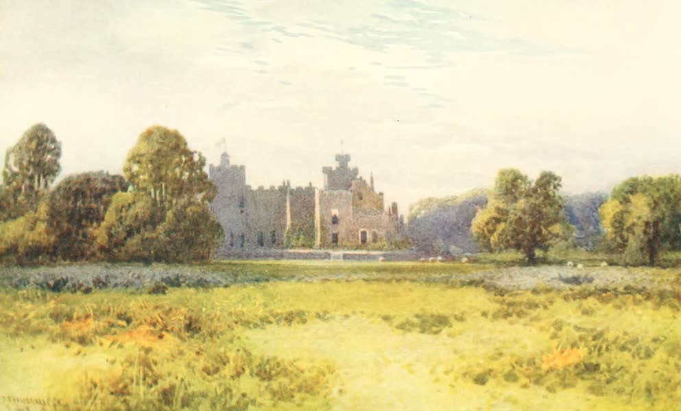 Devon : Its Moorlands, Streams, & Coasts - Powderham Castle (1913)