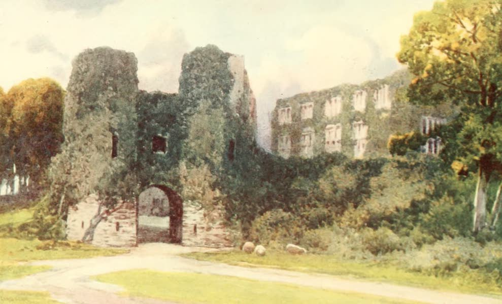 Devon : Its Moorlands, Streams, & Coasts - Berry Pomeroy Castle (1913)