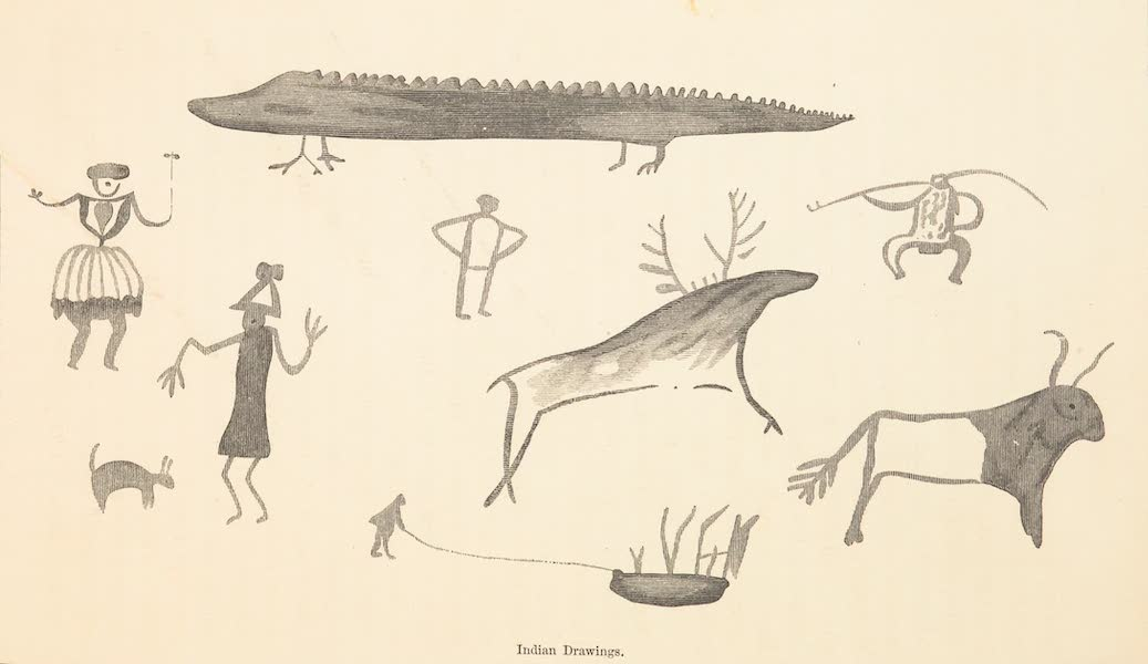 Journey from the Mississippi Vol. 1 - Indian's Drawings III (1858)