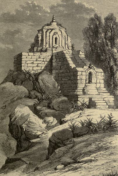 Diary of a Pedestrian in Cashmere and Thibet - Solomon's Throne (1863)