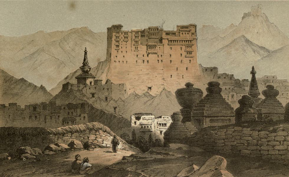Diary of a Pedestrian in Cashmere and Thibet - Rajah's Palace, Ladak (1863)