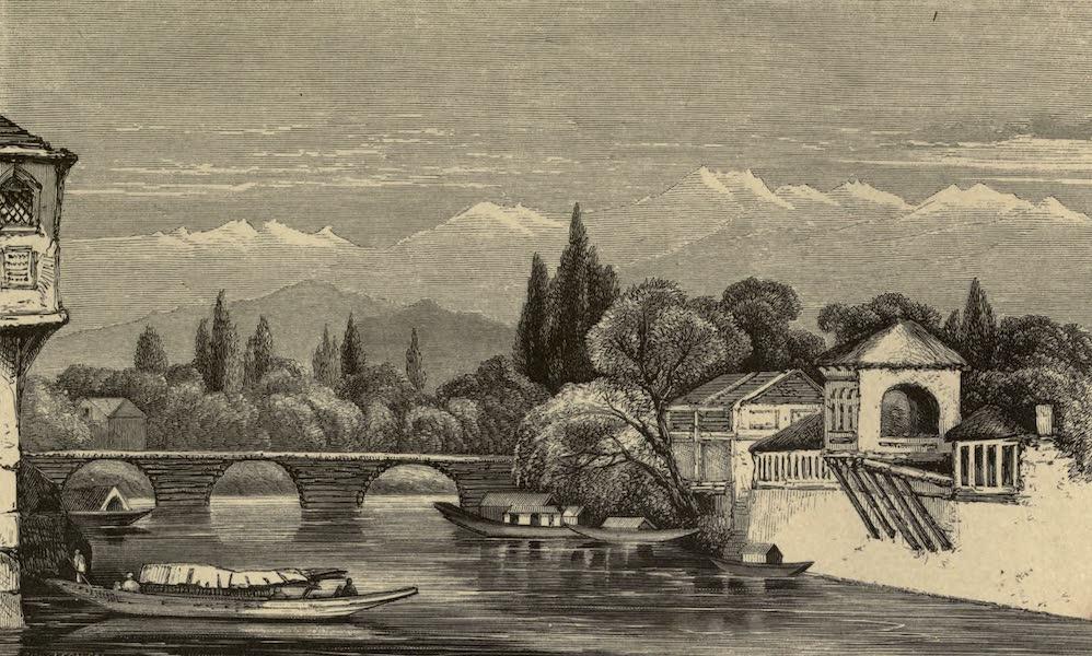 Diary of a Pedestrian in Cashmere and Thibet - Seventh Bridge, Sirinugger (1863)