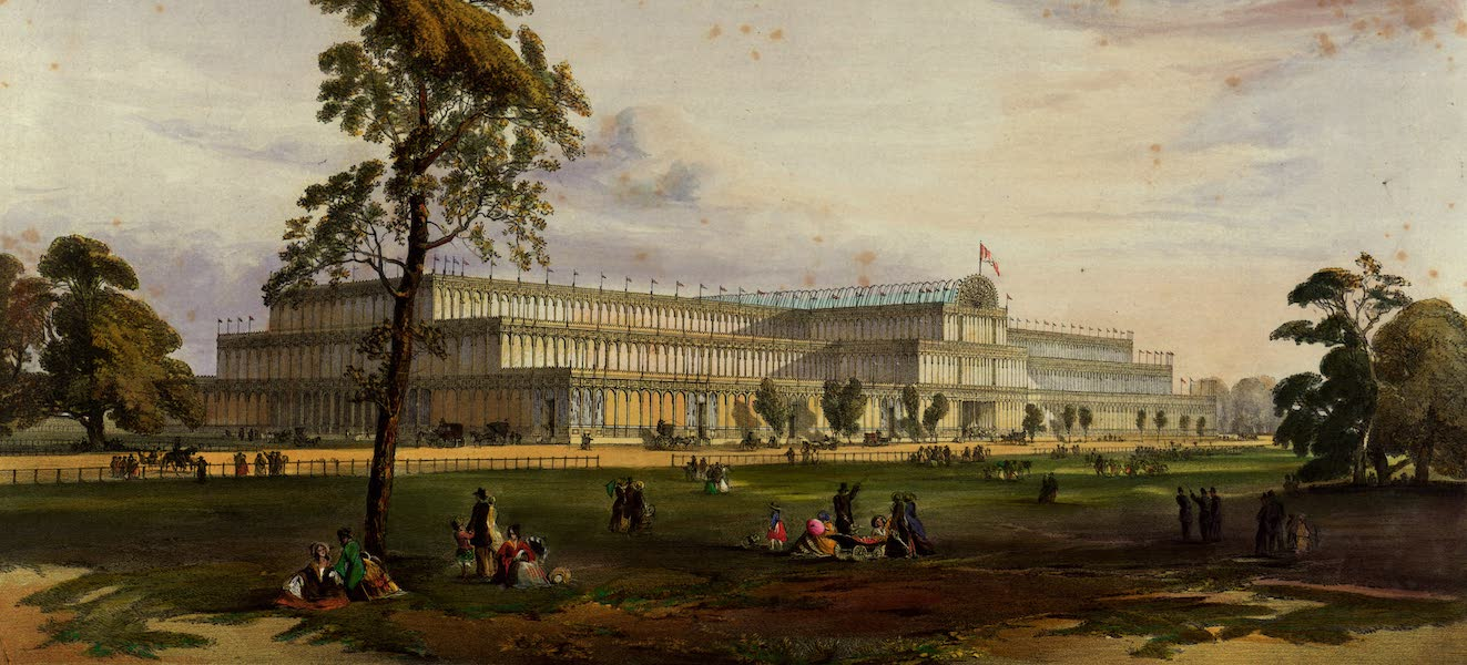 Dickinsons' Great Exhibition of 1851 - General View of the Exterior of the Building (1852)