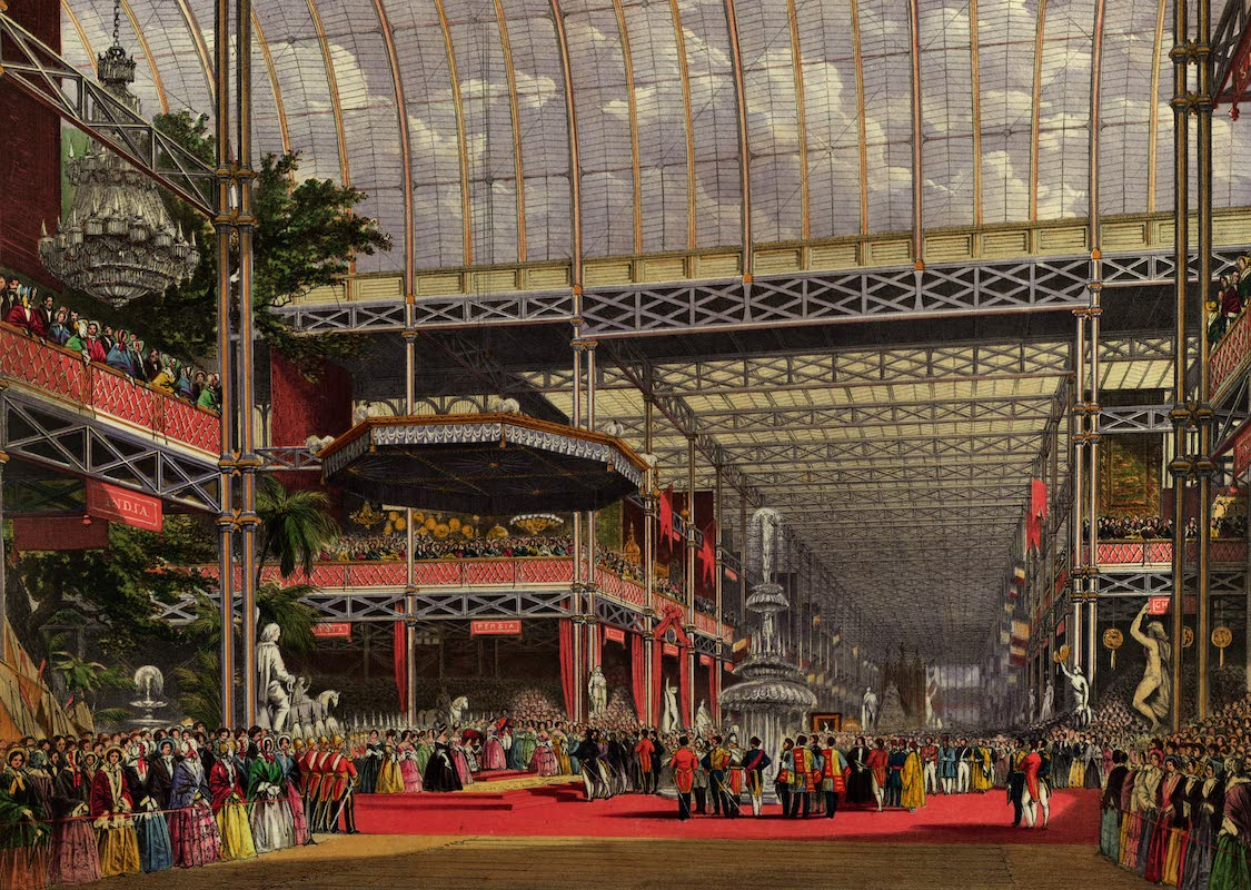 Dickinsons' Great Exhibition of 1851 - The Inauguration (1852)
