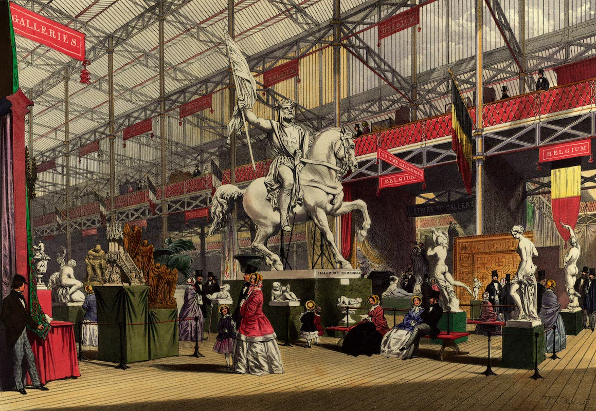 Dickinsons' Great Exhibition of 1851 - Belgium (1852)