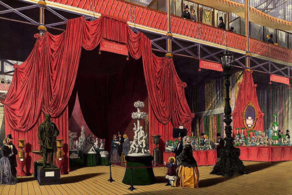 Dickinsons' Great Exhibition of 1851 - Austria No. 2 (Austrian Sculpture) (1852)
