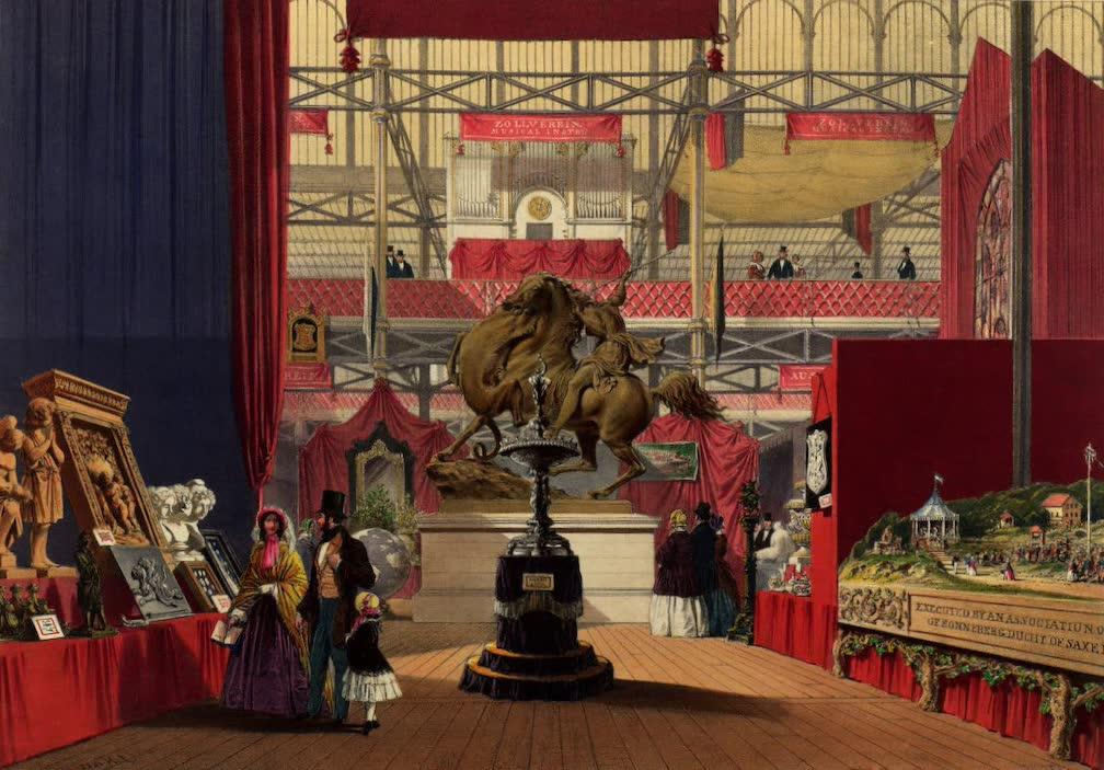 Dickinsons' Great Exhibition of 1851 - Zollverein (1852)