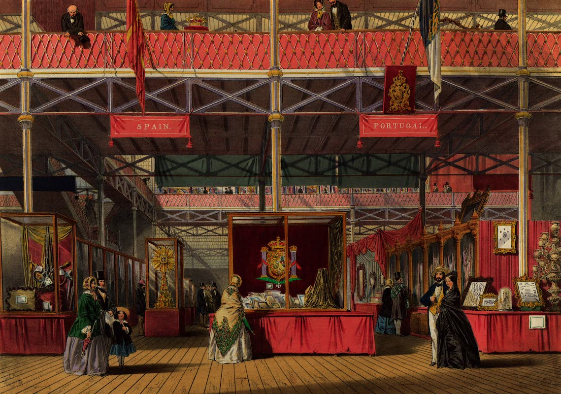 Dickinsons' Great Exhibition of 1851 - Spain and Portugal (1852)