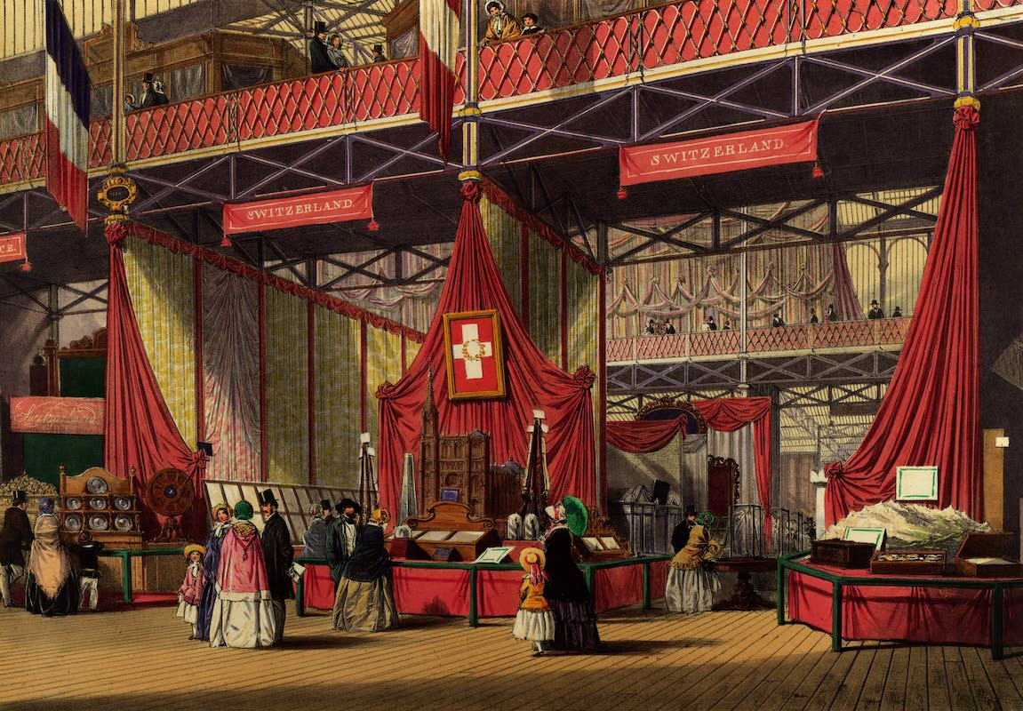 Dickinsons' Great Exhibition of 1851 - Switzerland (1852)