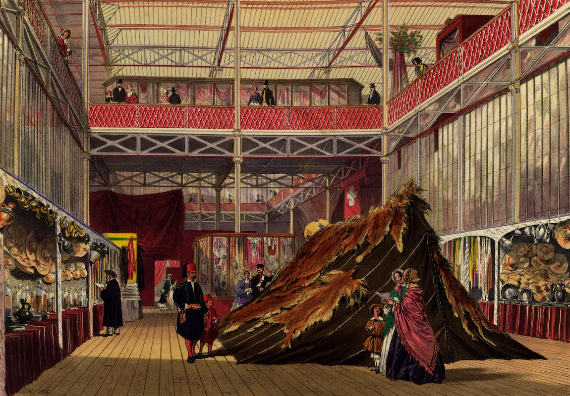Dickinsons' Great Exhibition of 1851 - Tunis No. 1 (1852)