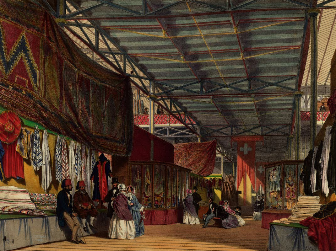Dickinsons' Great Exhibition of 1851 - Tunis No. 2 (1852)