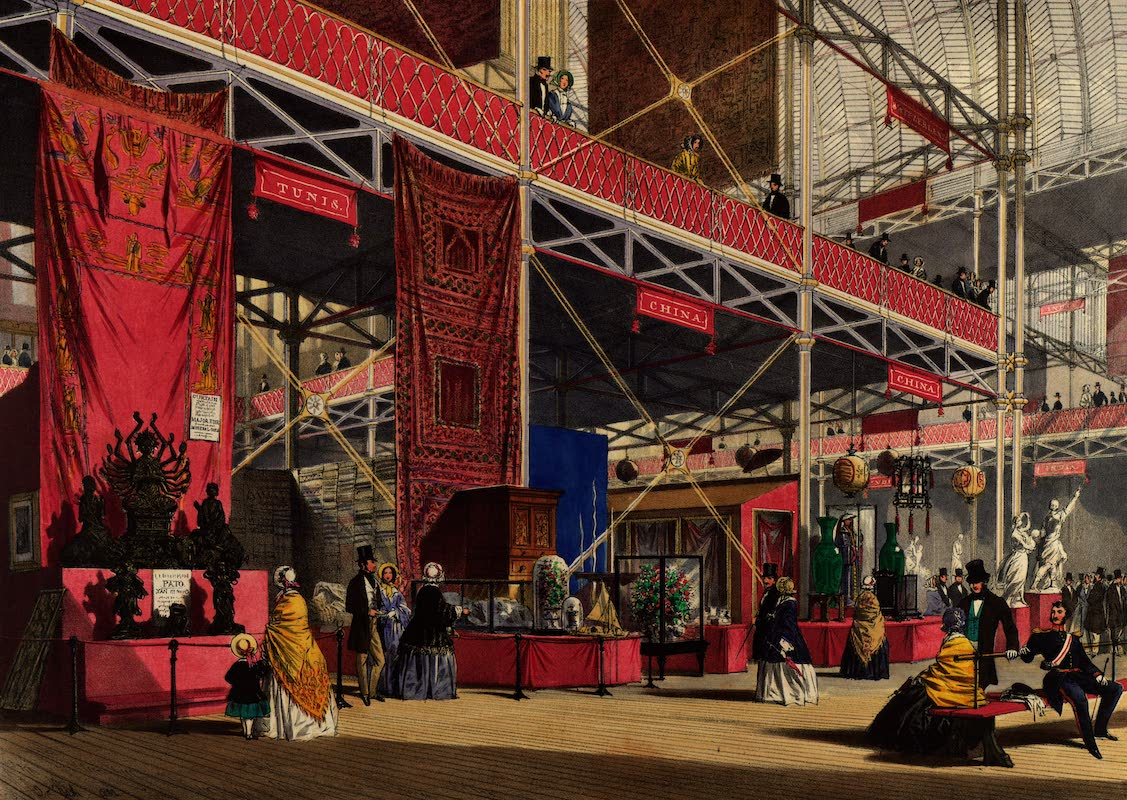 Dickinsons' Great Exhibition of 1851 - Tunis No. 3 (1852)
