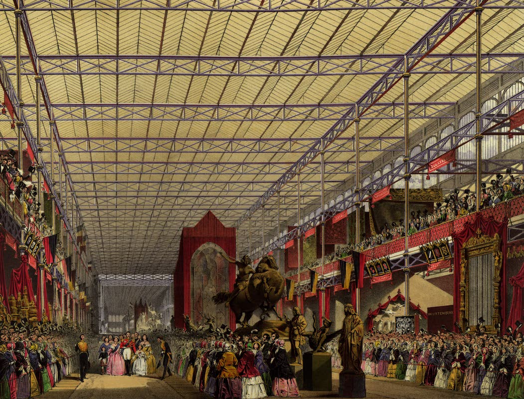Dickinsons' Great Exhibition of 1851 - Foreign Nave (1852)