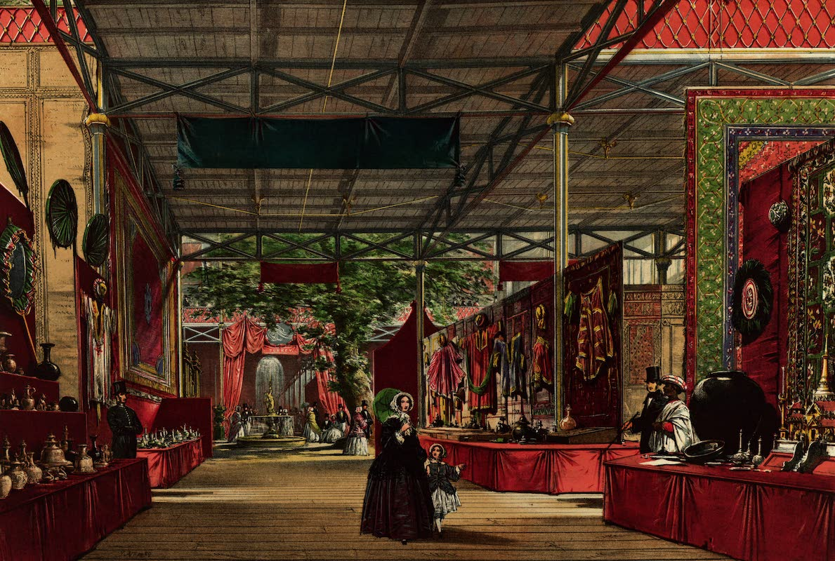 Dickinsons' Great Exhibition of 1851 - India No. 7 (1852)