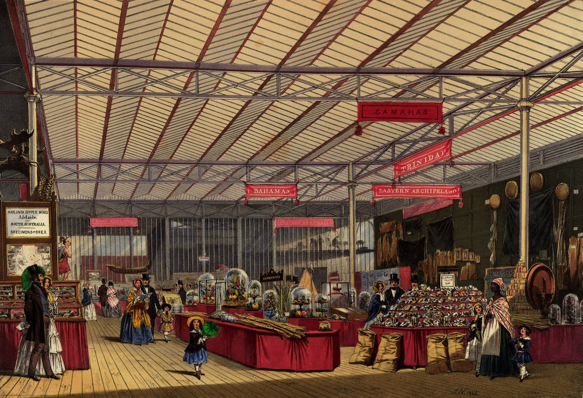 Dickinsons' Great Exhibition of 1851 - West Indies Colonies (1852)
