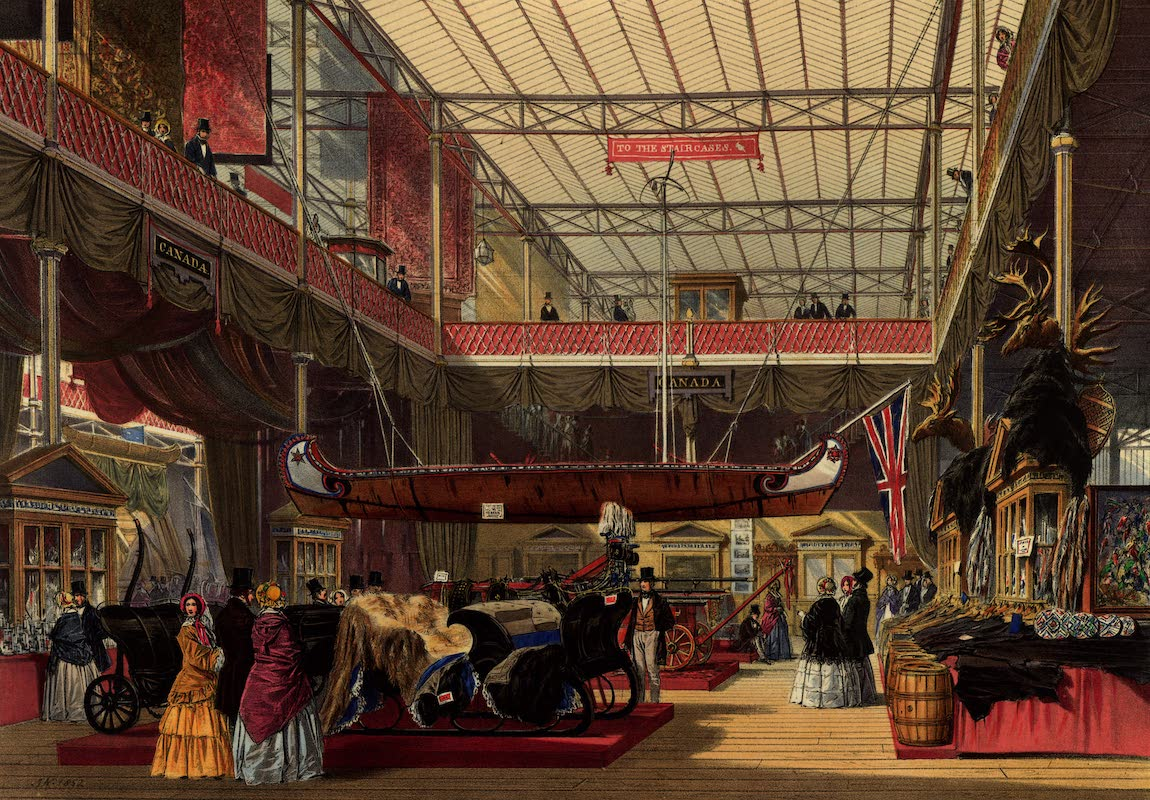 Dickinsons' Great Exhibition of 1851 - Canada (1852)