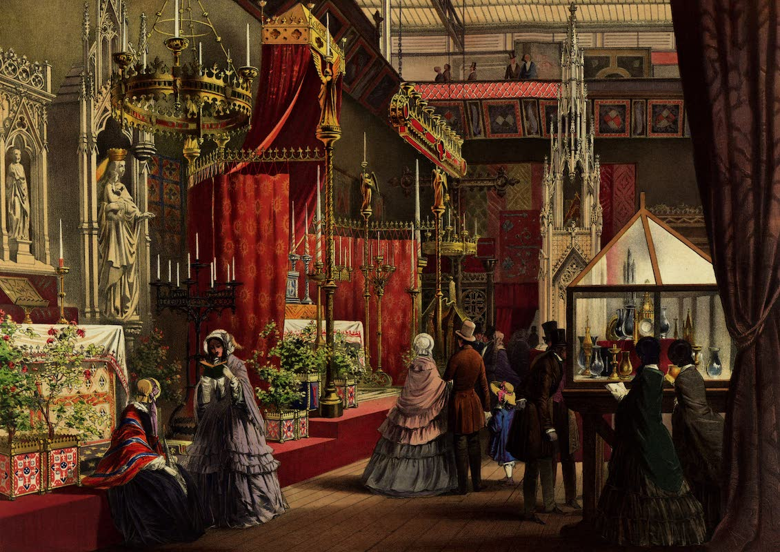 Dickinsons' Great Exhibition of 1851 - Mediaeval Court (1852)