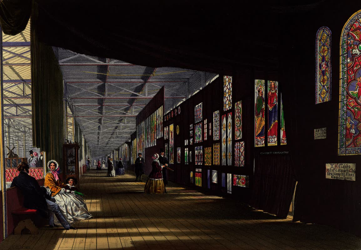 Dickinsons' Great Exhibition of 1851 - Stained Glass Gallery (1852)