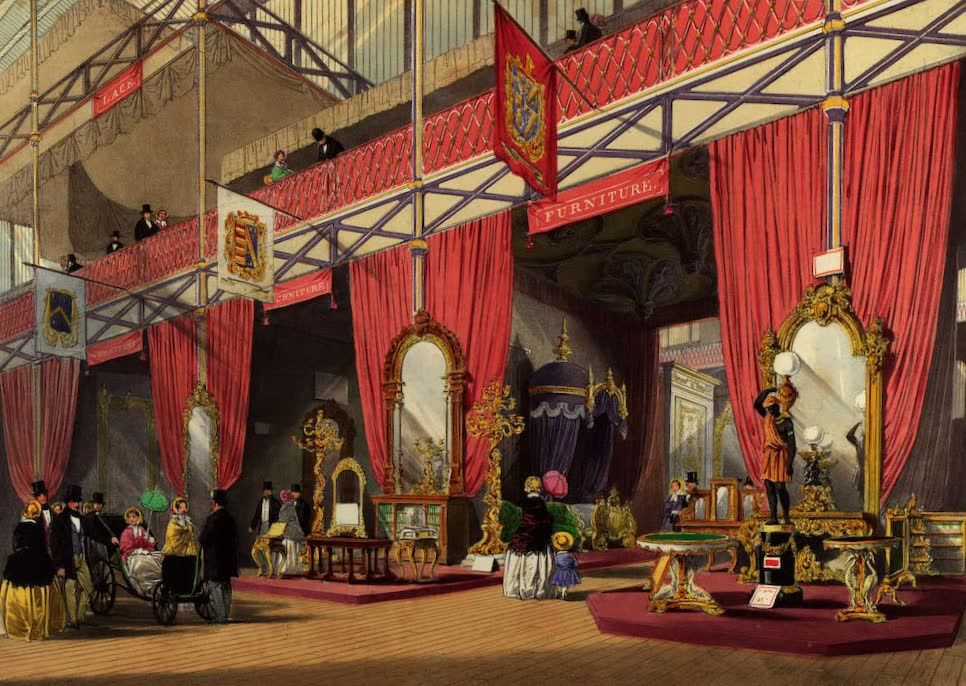 Dickinsons' Great Exhibition of 1851 - Furniture (1852)