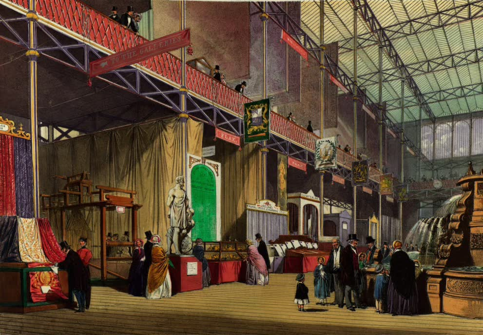 Dickinsons' Great Exhibition of 1851 - Flax (1852)